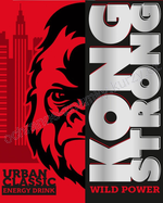 KONG STRONG WILD POWER URBAN CLASSIC ENERGY DRINK - ochranná známka