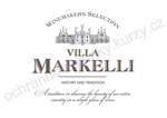 Winemakers Selection VILLA MARKELLI History and Tradition A tradition in sharing the beauty of an entire country in a single glass of wine - ochranná známka