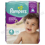 Pampers premium protection active fit - ochranná známka